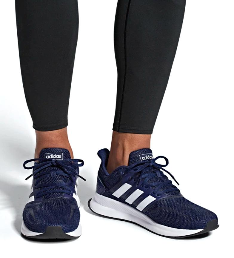 24ab314d55 Comprar adidas Zapatillas de running Runfalcon azul / 271g - your ...