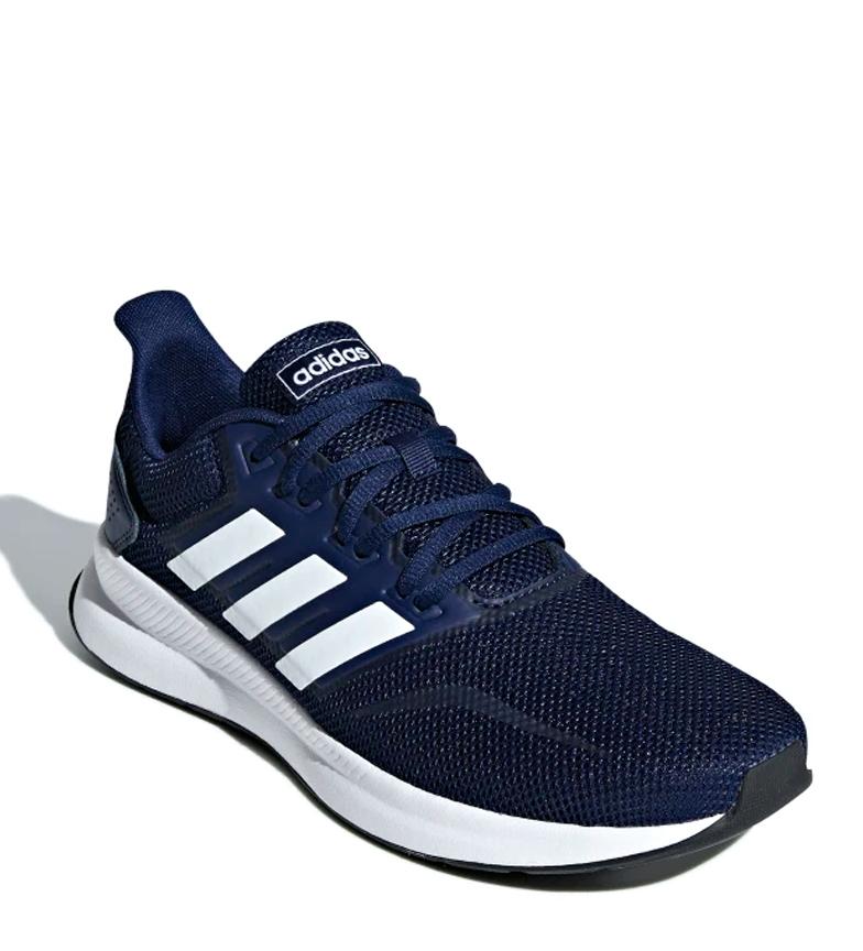 adidas-Zapatillas-de-running-Runfalcon-Hombre-chico-Negro-Blanco-Azul-Gris miniatura 30