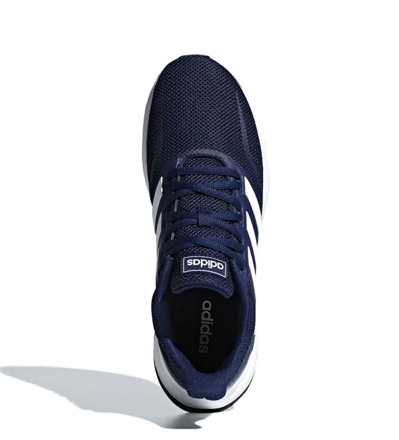 adidas-Zapatillas-de-running-Runfalcon-Hombre-chico-Negro-Blanco-Azul-Gris miniatura 33