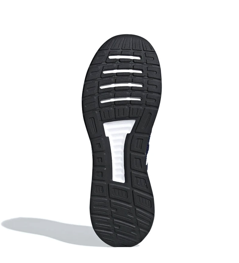 adidas-Zapatillas-de-running-Runfalcon-Hombre-chico-Negro-Blanco-Azul-Gris miniatura 34