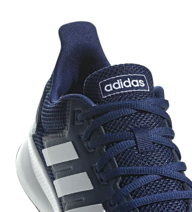 adidas-Zapatillas-de-running-Runfalcon-Hombre-chico-Negro-Blanco-Azul-Gris miniatura 35