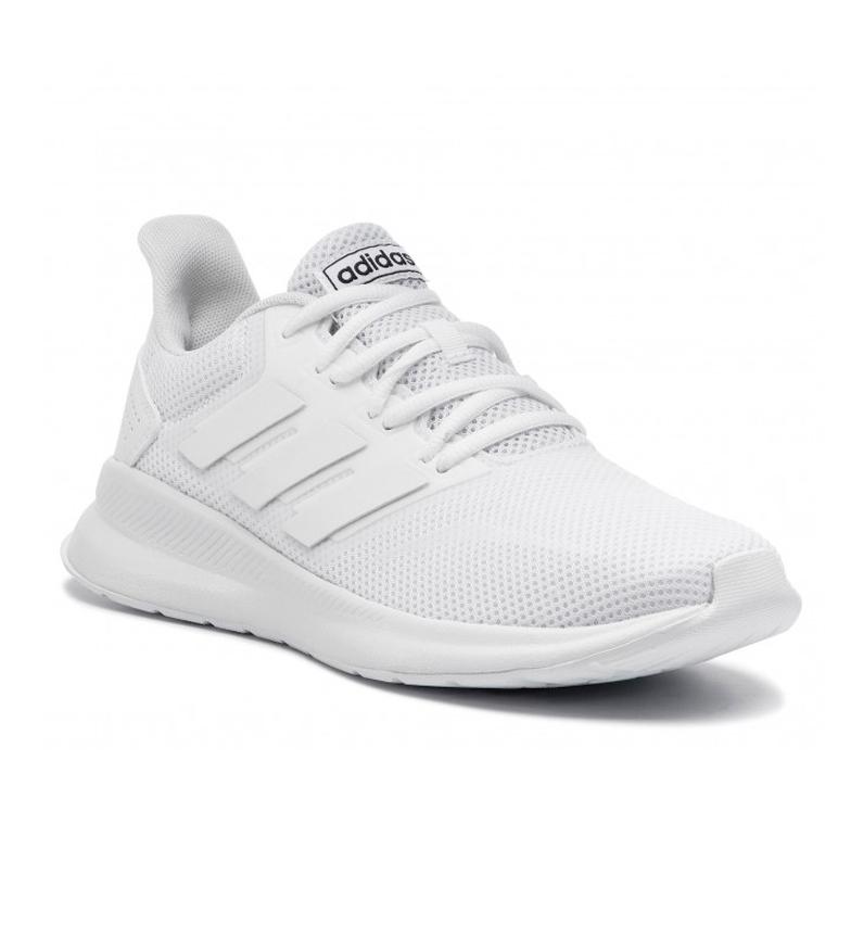 adidas-Zapatillas-de-running-Runfalcon-Hombre-chico-Negro-Blanco-Azul-Gris miniatura 21