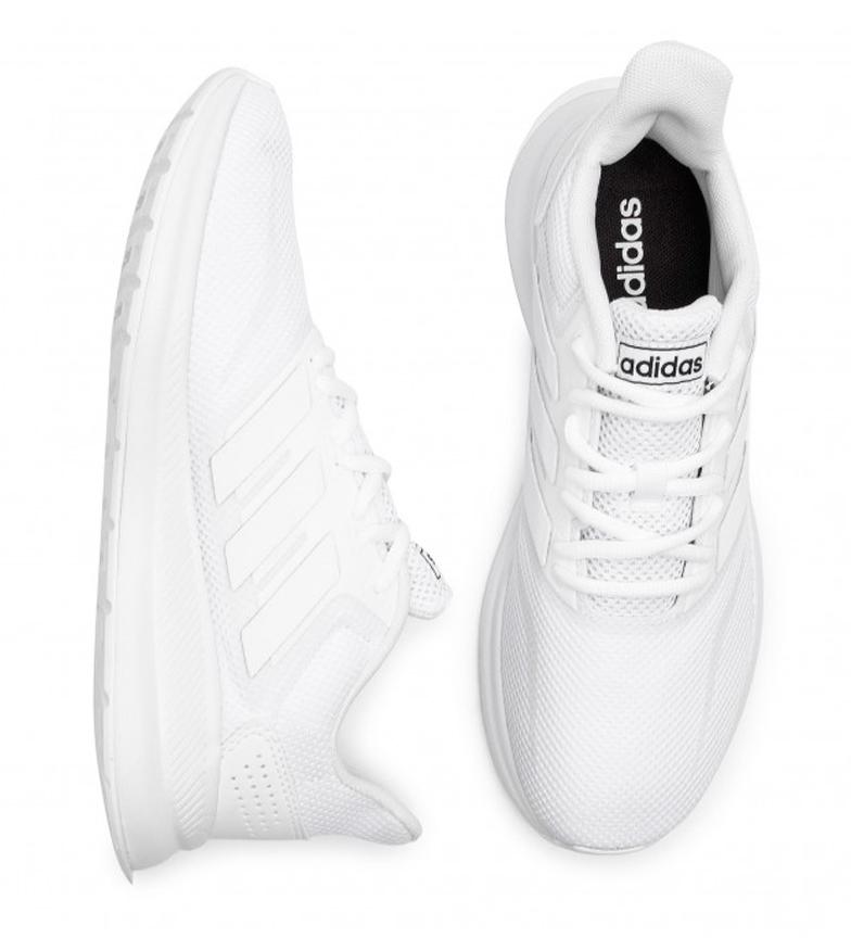 adidas-Zapatillas-de-running-Runfalcon-Hombre-chico-Negro-Blanco-Azul-Gris miniatura 24