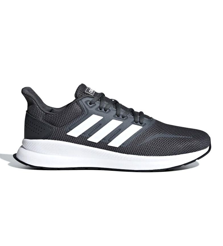 adidas-Zapatillas-de-running-Runfalcon-Hombre-chico-Negro-Blanco-Azul-Gris miniatura 37