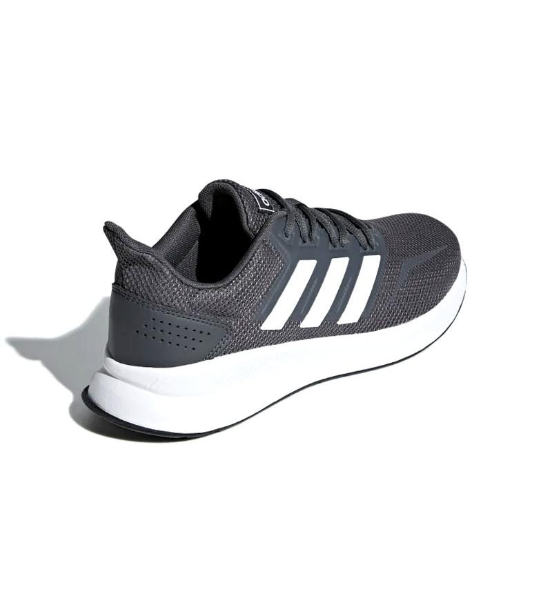 adidas-Zapatillas-de-running-Runfalcon-Hombre-chico-Negro-Blanco-Azul-Gris miniatura 40