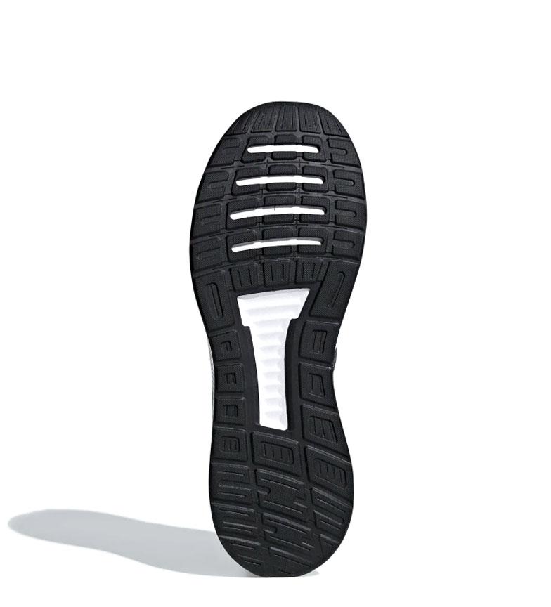 adidas-Zapatillas-de-running-Runfalcon-Hombre-chico-Negro-Blanco-Azul-Gris miniatura 43