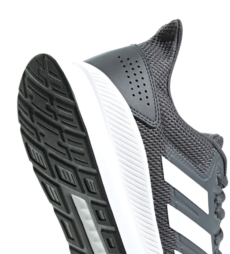 adidas-Zapatillas-de-running-Runfalcon-Hombre-chico-Negro-Blanco-Azul-Gris miniatura 44