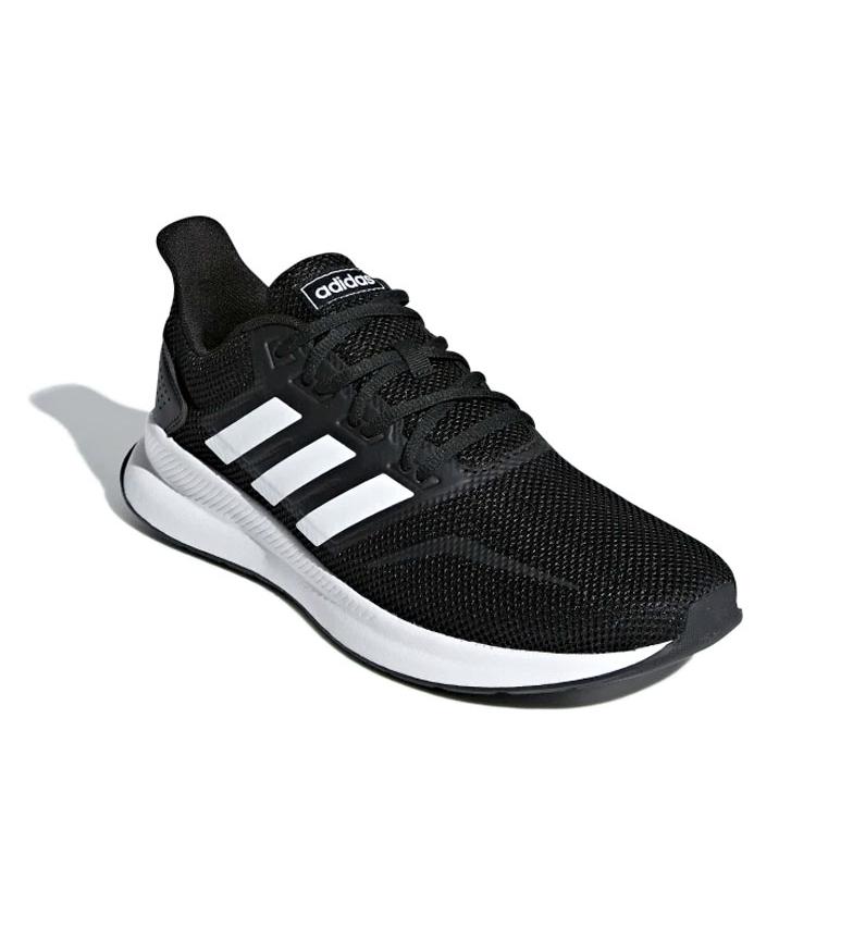 adidas-Zapatillas-de-running-Runfalcon-Hombre-chico-Negro-Blanco-Azul-Gris miniatura 13