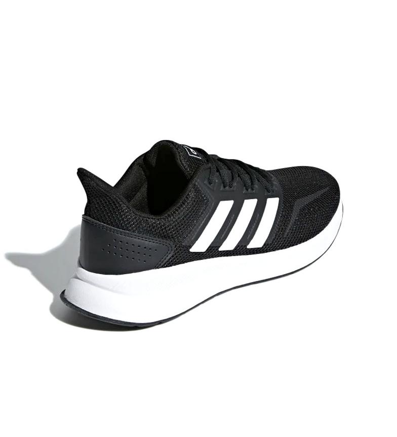 adidas-Zapatillas-de-running-Runfalcon-Hombre-chico-Negro-Blanco-Azul-Gris miniatura 14