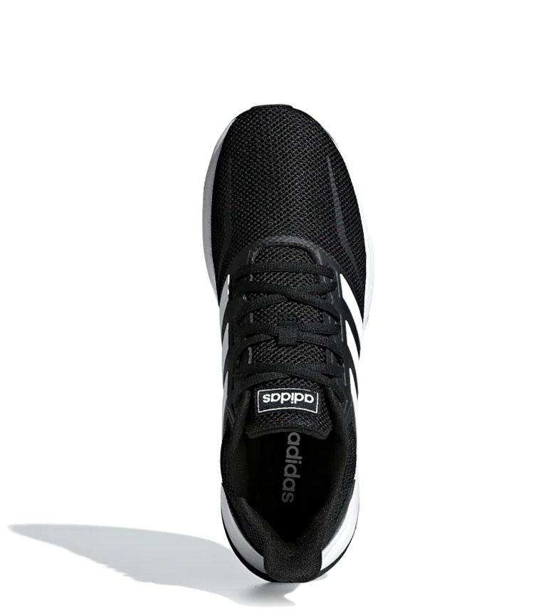 adidas-Zapatillas-de-running-Runfalcon-Hombre-chico-Negro-Blanco-Azul-Gris miniatura 16