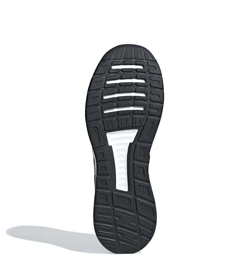 adidas-Zapatillas-de-running-Runfalcon-Hombre-chico-Negro-Blanco-Azul-Gris miniatura 17