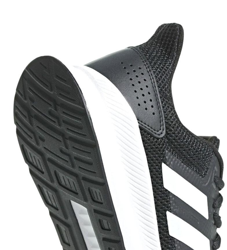 adidas-Zapatillas-de-running-Runfalcon-Hombre-chico-Negro-Blanco-Azul-Gris miniatura 18