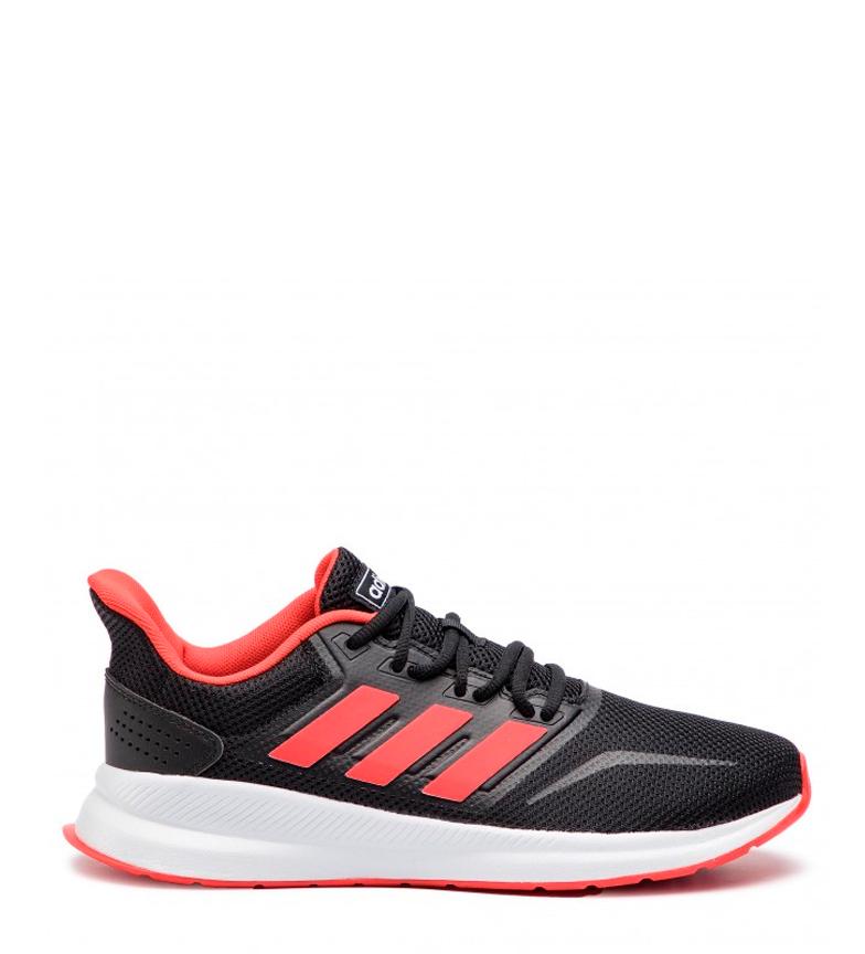 adidas-Zapatillas-de-running-Runfalcon-Hombre-chico-Negro-Blanco-Azul-Gris miniatura 3