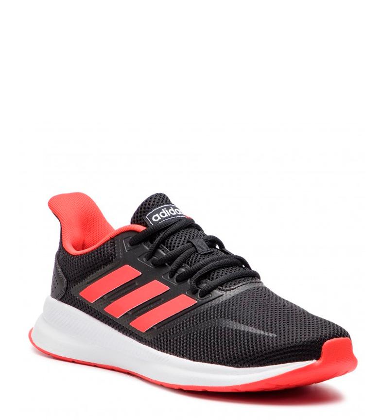adidas-Zapatillas-de-running-Runfalcon-Hombre-chico-Negro-Blanco-Azul-Gris miniatura 4