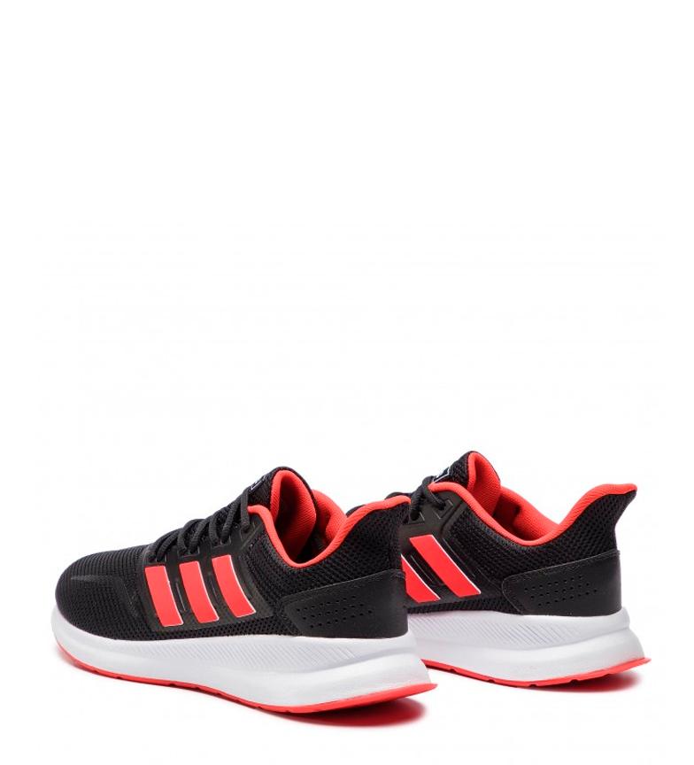 adidas-Zapatillas-de-running-Runfalcon-Hombre-chico-Negro-Blanco-Azul-Gris miniatura 5