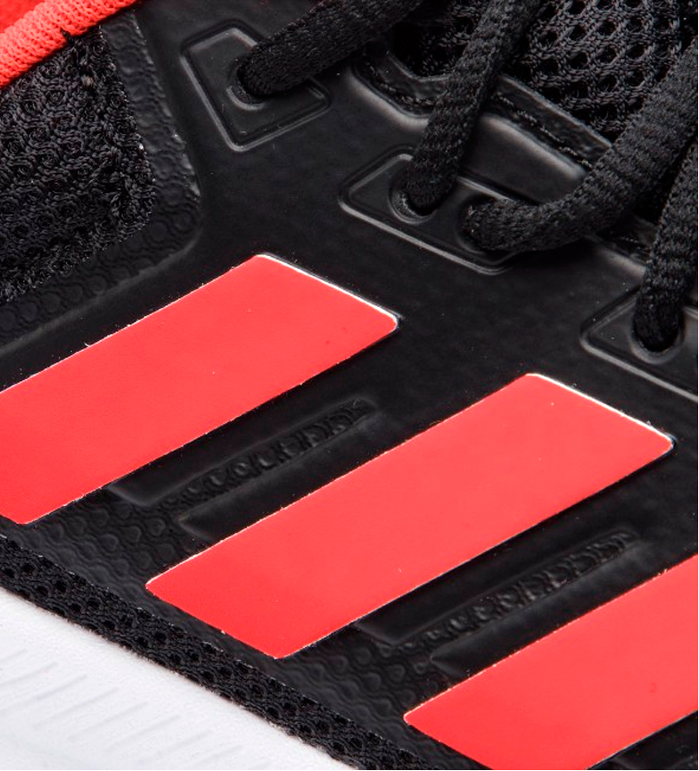 adidas-Zapatillas-de-running-Runfalcon-Hombre-chico-Negro-Blanco-Azul-Gris miniatura 9