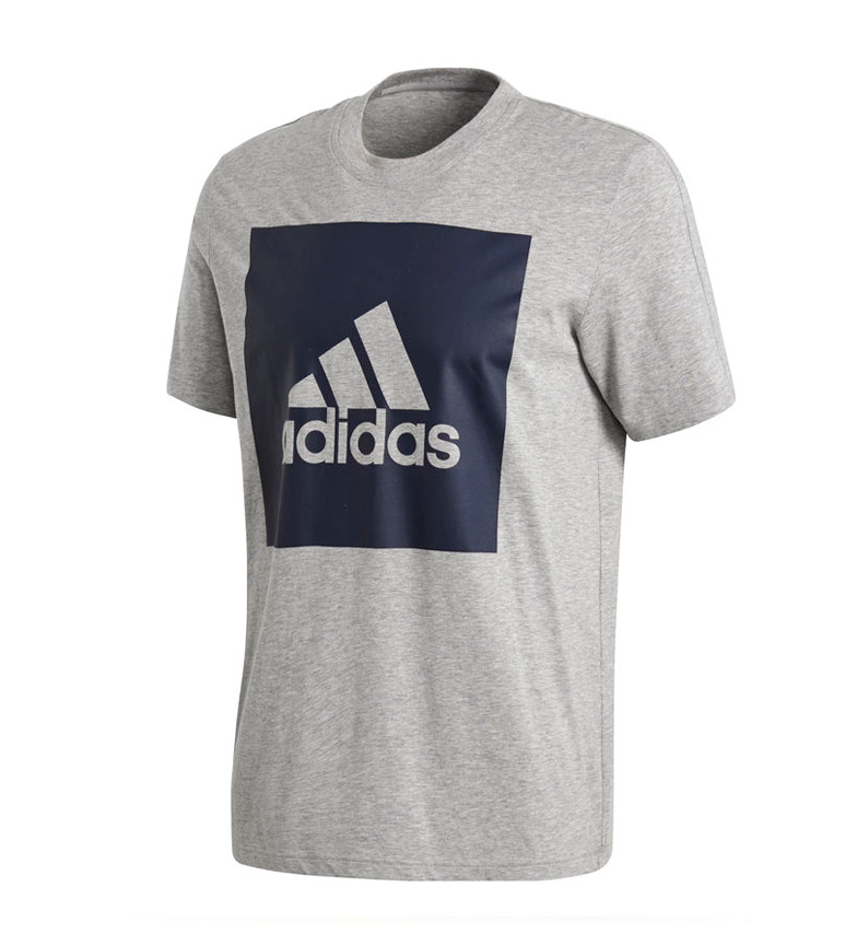 Comprar adidas Camiseta Essentials Box Logo gris - your online ... c10598f3fef5a