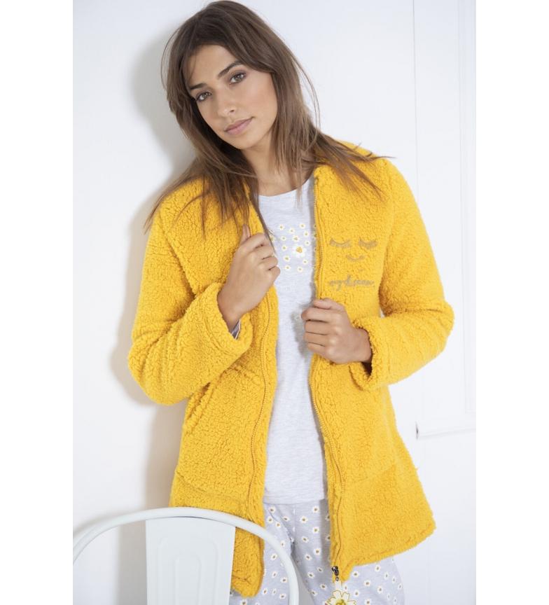 Comprar Admas  Bata Manga Larga Calentita My Dream amarillo