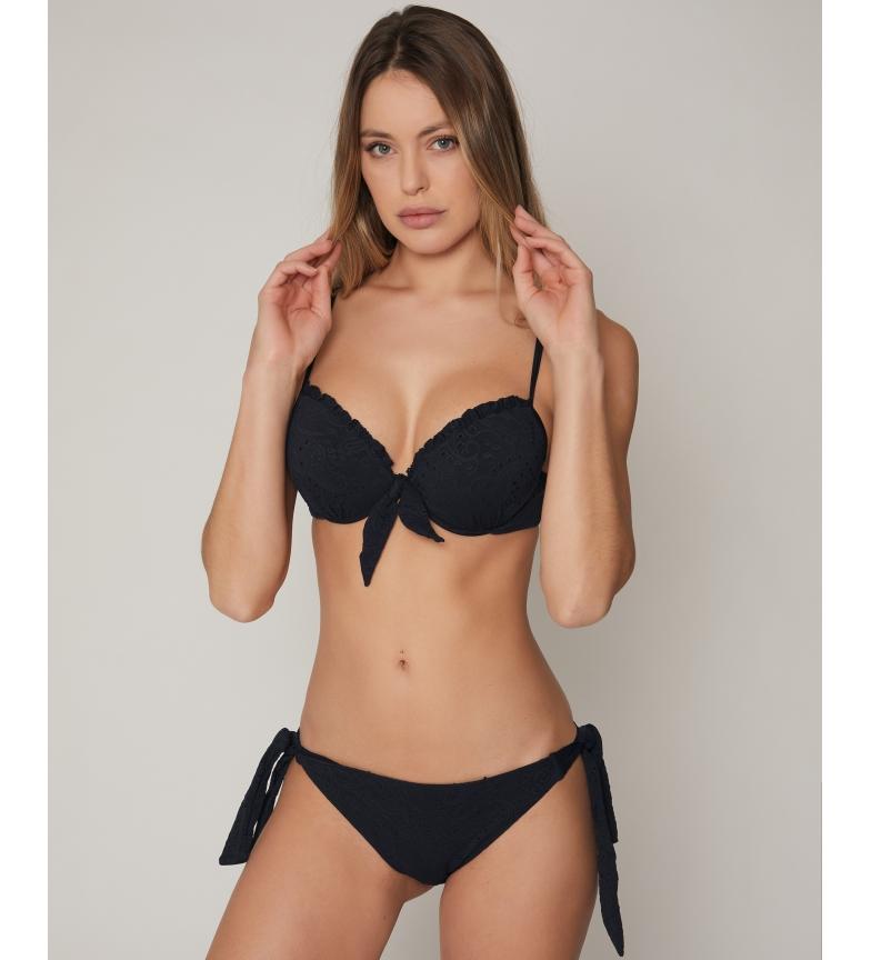 Admas Bikini Push Up Ibiza negro