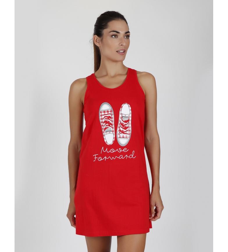 Comprar Admas Avançar camisola sem alças vermelha