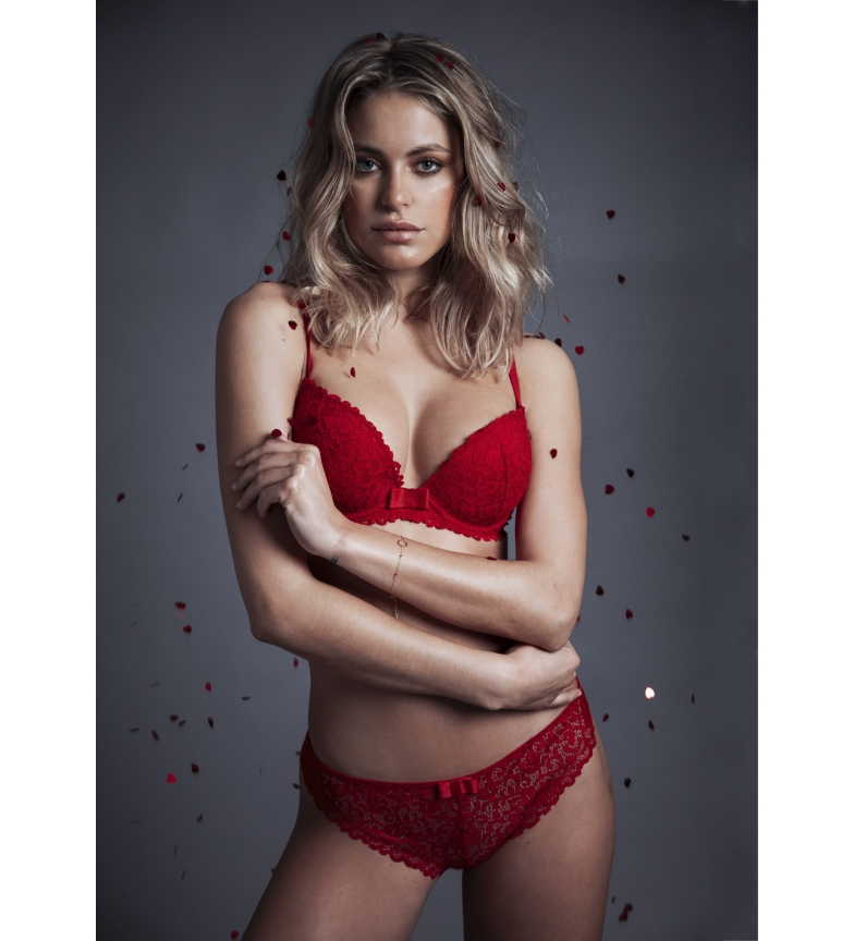 Comprar Admas Bra and panty set 44551 red