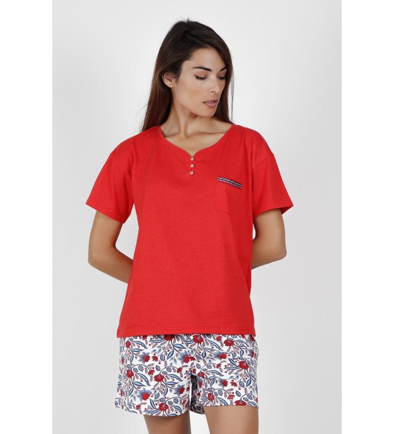 Comprar Admas Pigiama manica corta blu e rosso rosso
