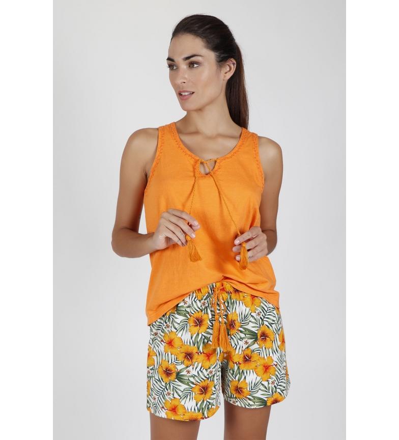 Comprar Admas Pajamas Orange Hawaii orange