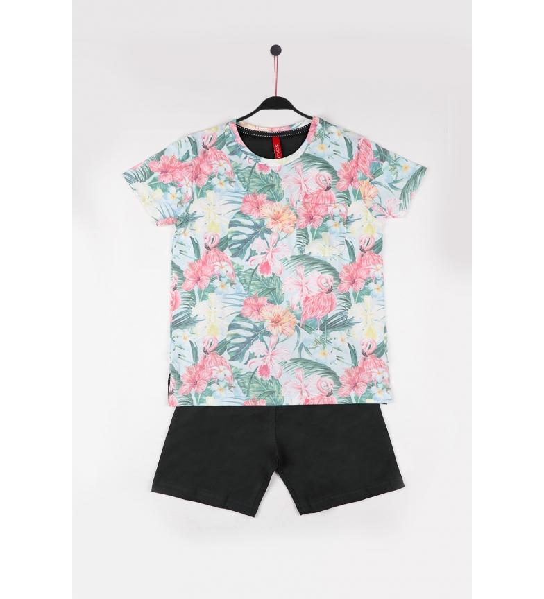Comprar Admas Pyjama à manches courtes Jungle sauvage multicolore
