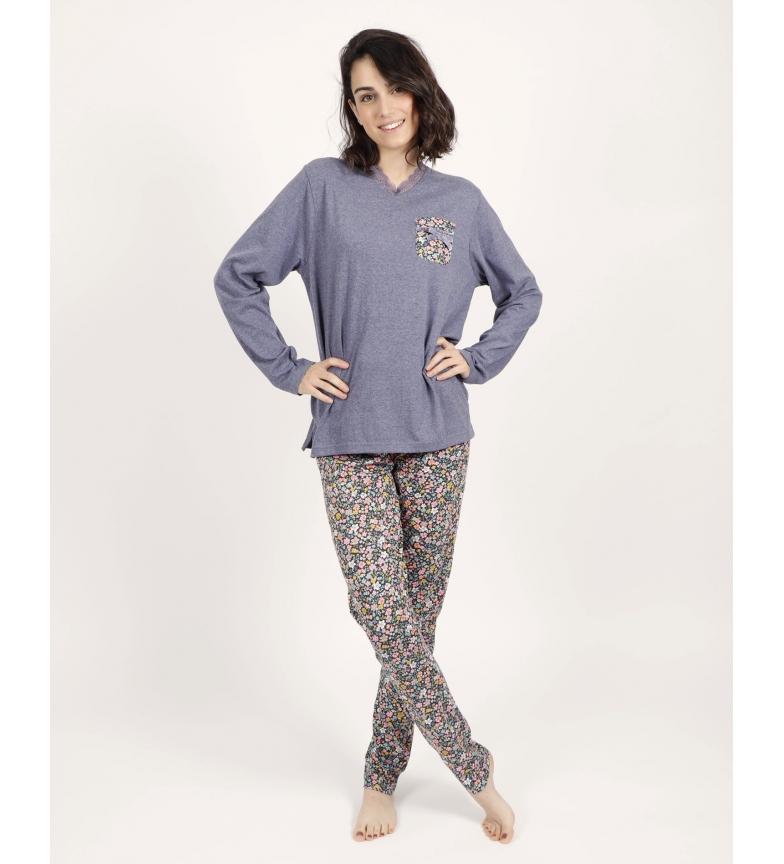 Comprar Admas Liberty Night navy pyjamas