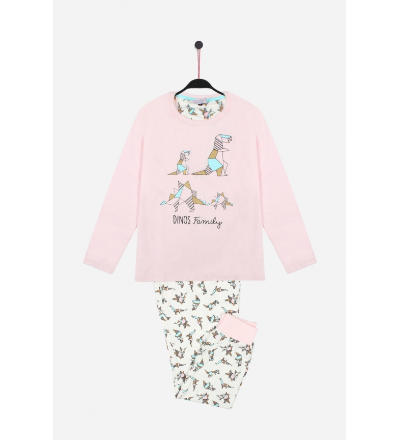 Comprar Admas Pijama Manga Larga Origami rosa