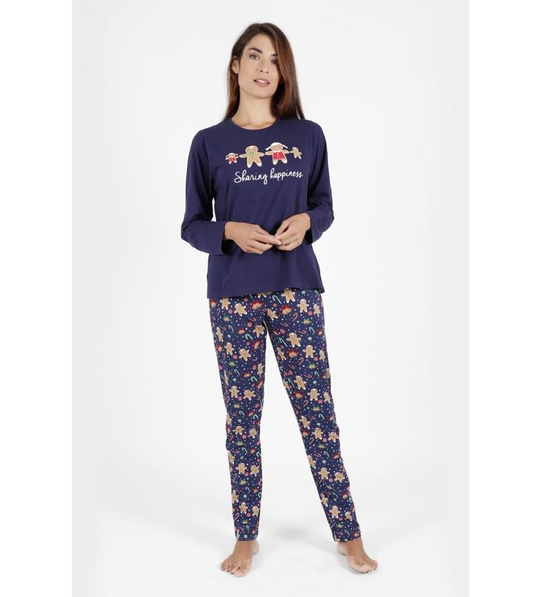 Comprar Admas Sharing Happiness navy pyjamas