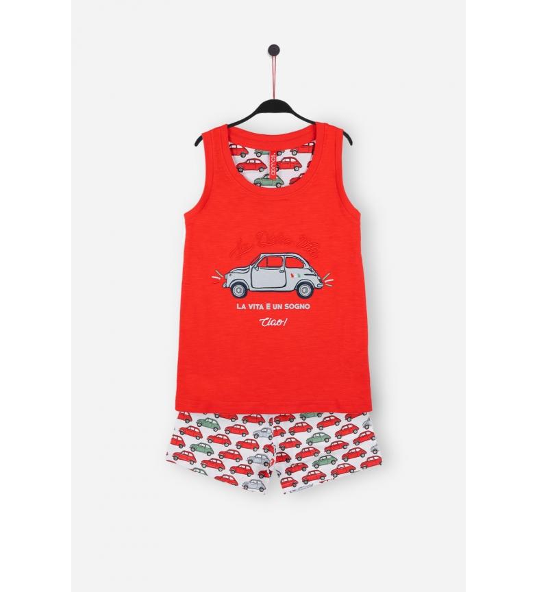 Comprar Admas Pyjama à bretelles rouges La Vita