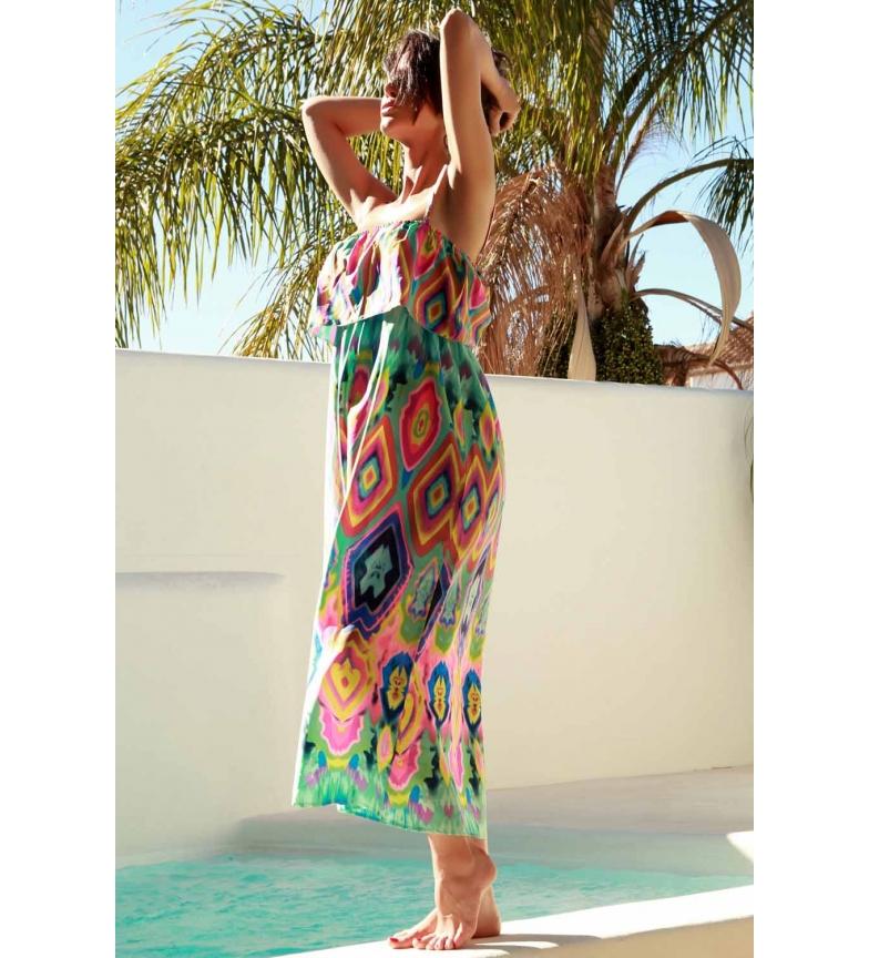 Comprar Admas Robe de plage longue multicolore Psicodelic