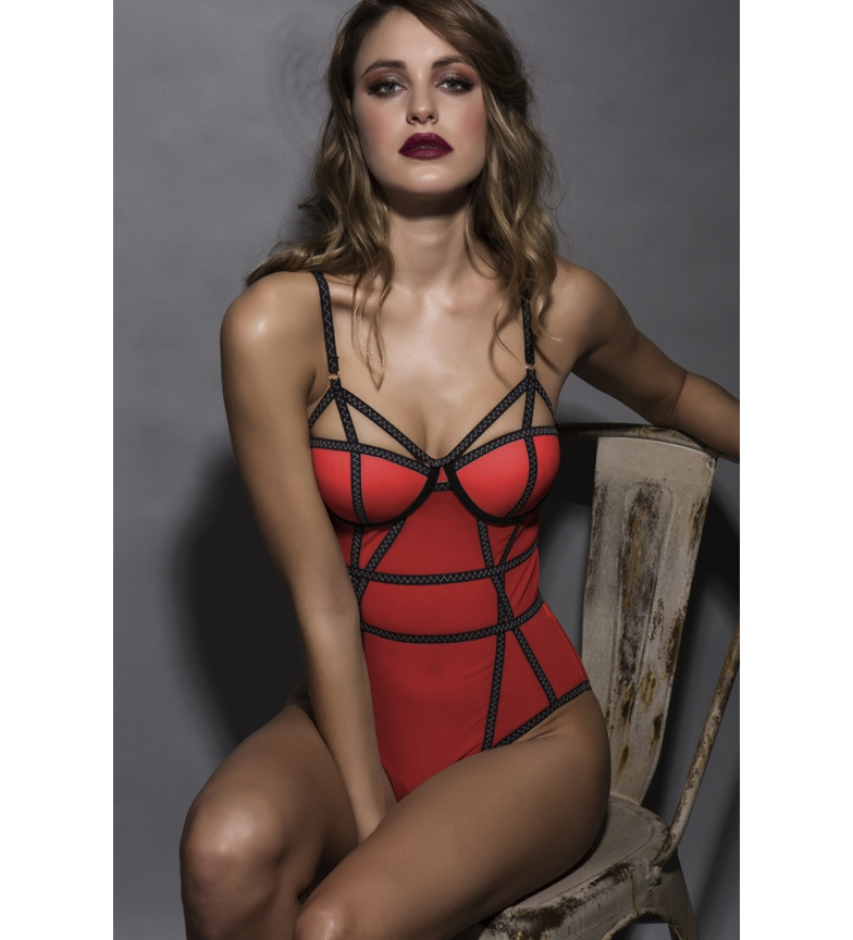 Comprar Admas Sexy Stories Straps Body 43041 red