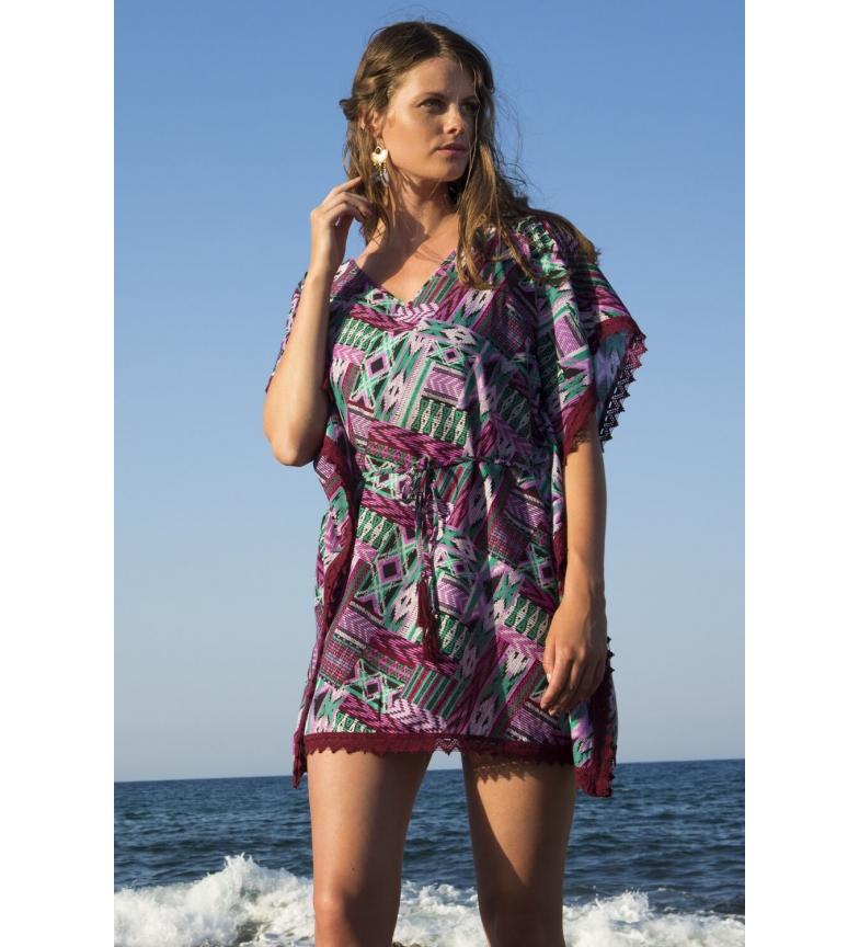 Comprar Admas Vestido Playa Kafkano Purple lila