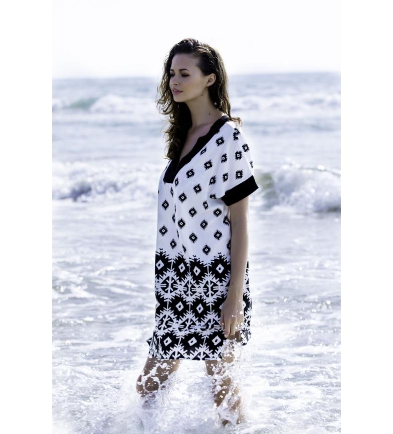 Comprar Admas Kafkano Short Sleeve Beach Dress White