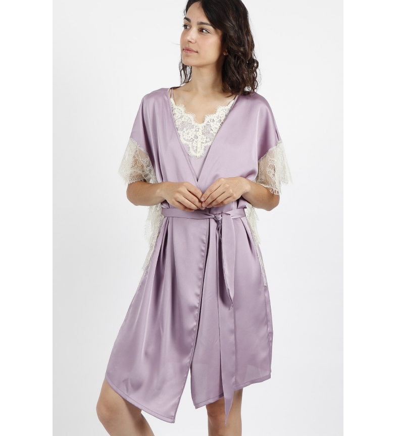 Comprar Admas Vestido macio crepe malva