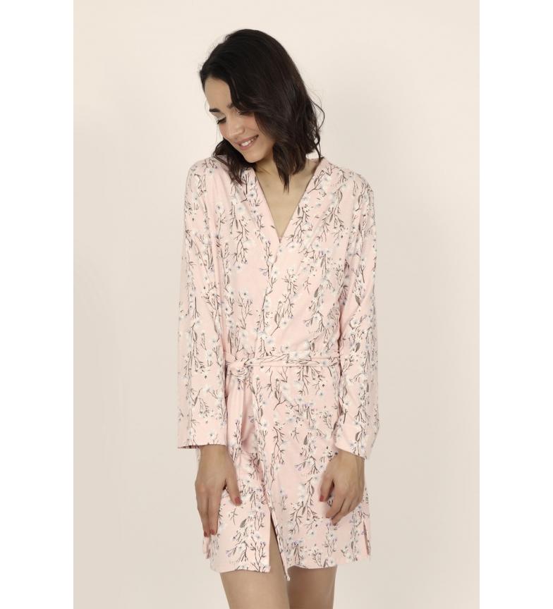 Comprar Admas Spring Flowers Pink Long Sleeve Gown