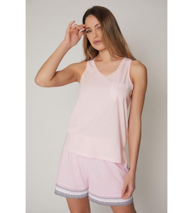 Comprar Admas Bracelets de pyjama à petits pois rose