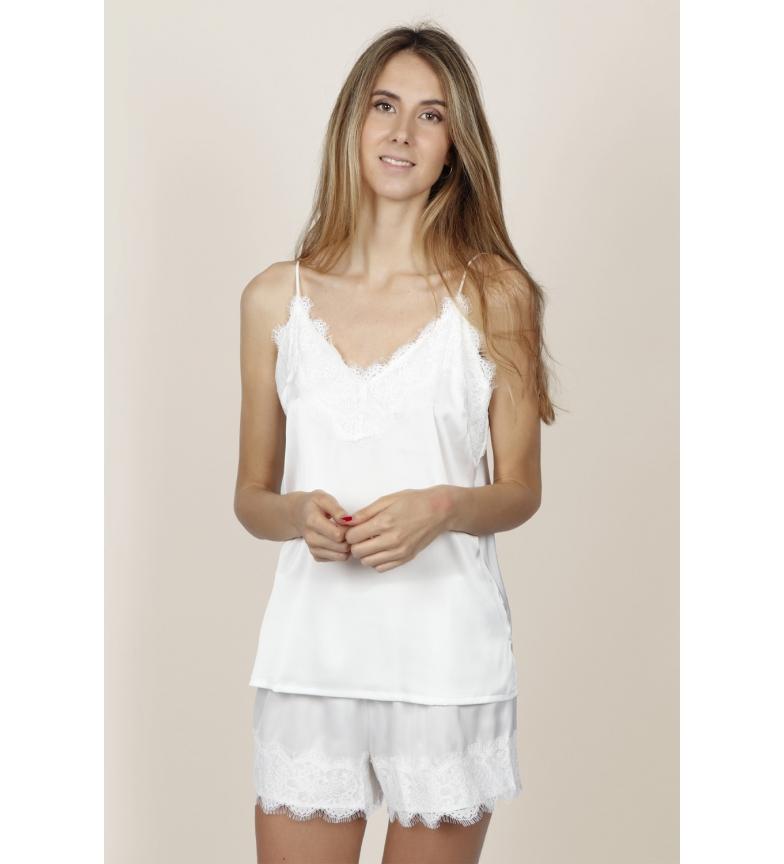 Comprar Admas Pajamas Soft Bride Straps white