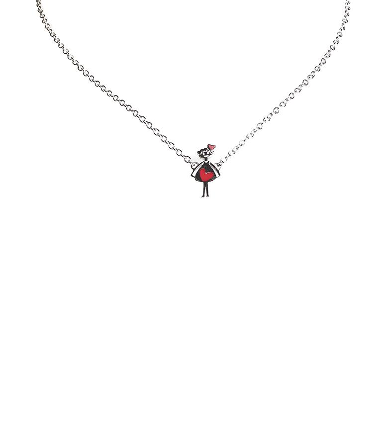 Comprar Agatha Ruiz De La Prada Necklace Agathitas silver