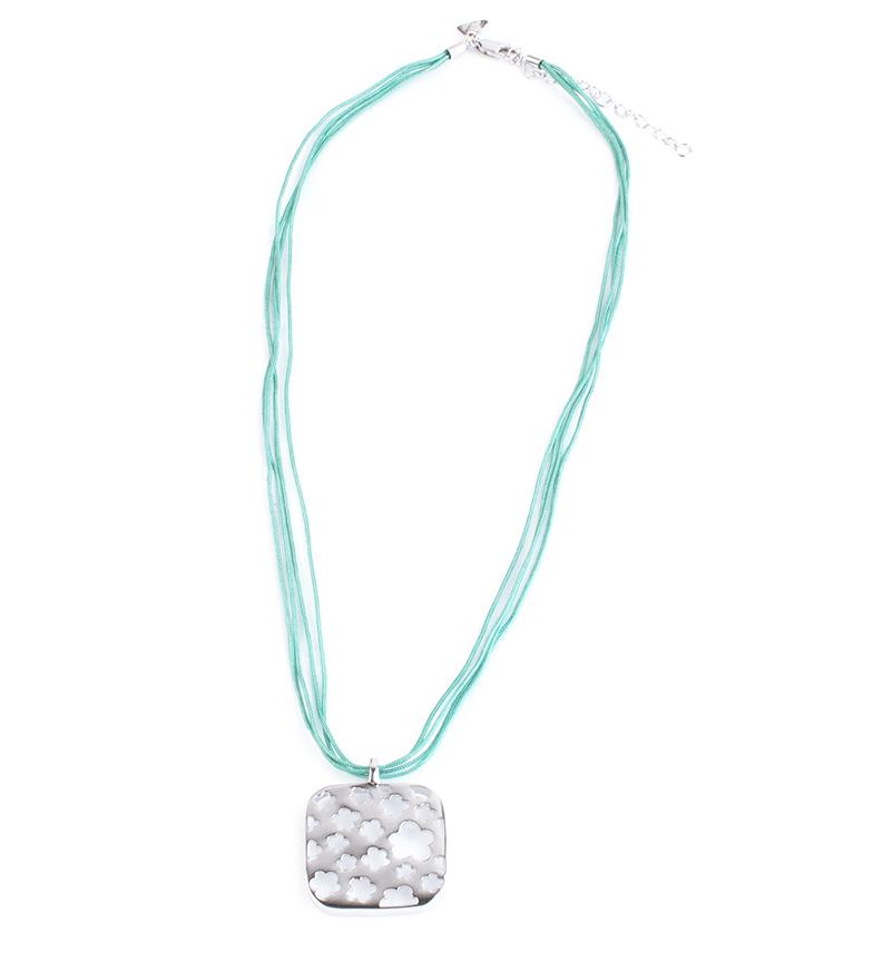 Comprar Agatha Ruiz De La Prada Collar Ana verde, plata