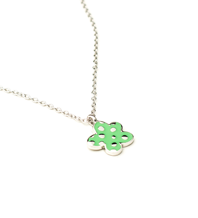 Comprar Agatha Ruiz De La Prada Collar de plata Nube verde