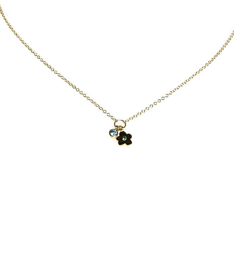 Comprar Agatha Ruiz De La Prada Golden Laura Flower Necklace