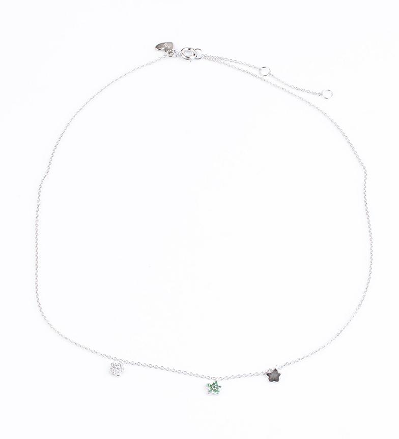 Comprar Agatha Ruiz De La Prada Noble Silver Necklace Mint Carmela