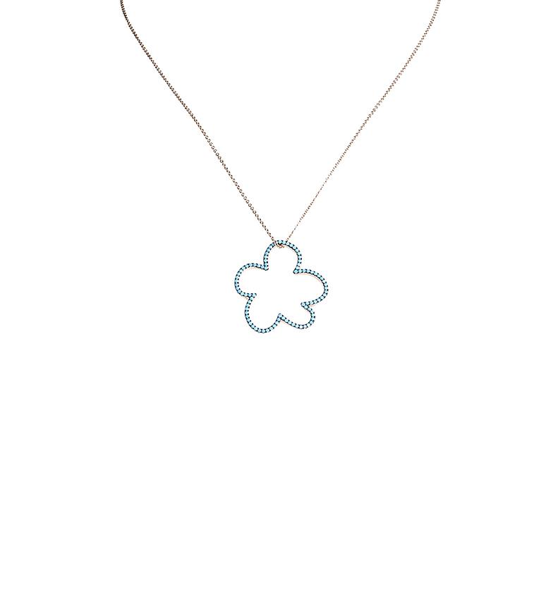 Comprar Agatha Ruiz De La Prada Collar de plata Nube turquesa Mami Carmela plata chapada rosa