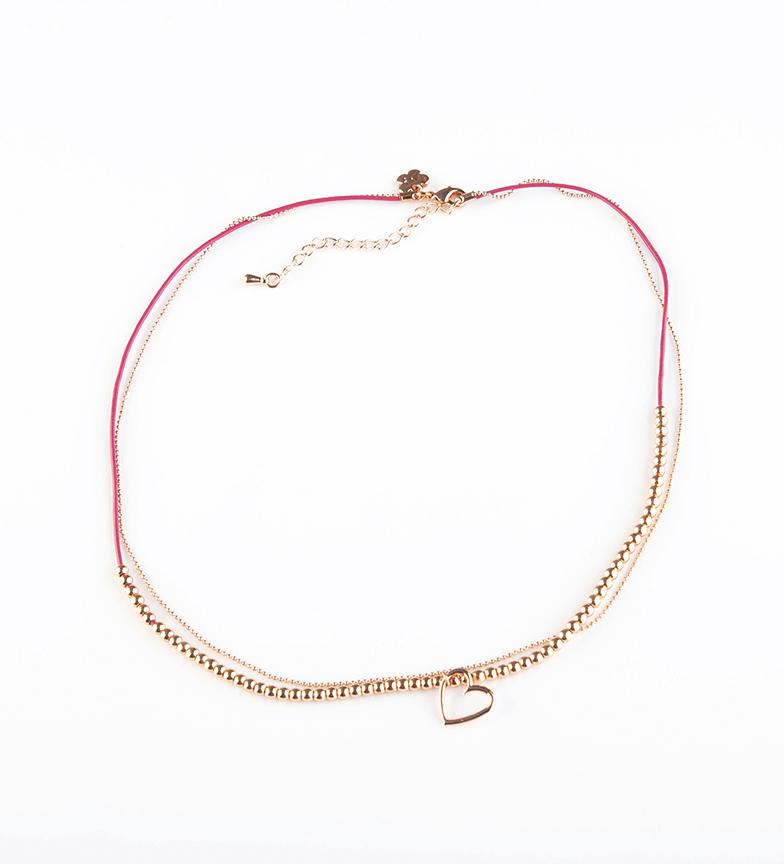 Comprar Agatha Ruiz De La Prada Fuchsia Bali Necklace