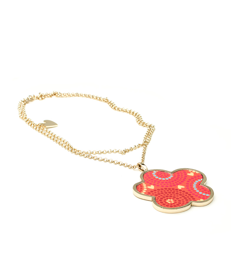 Comprar Agatha Ruiz De La Prada Bombay necklace orange