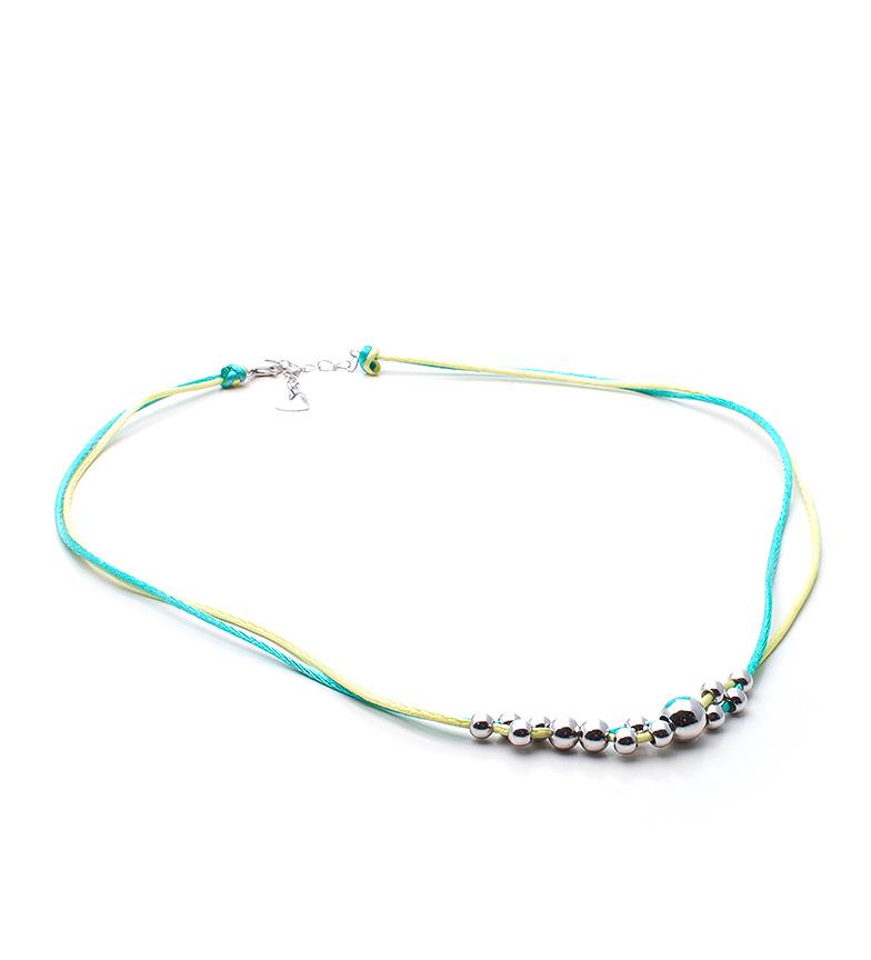 Comprar Agatha Ruiz De La Prada Collar con bolas de plata Balines Verde
