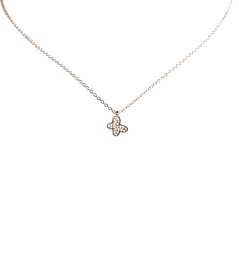 Comprar Agatha Ruiz De La Prada Collana argento Corina Butterfly argento